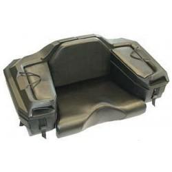 Coffre arriere pour quad cargo-box noir avec siege