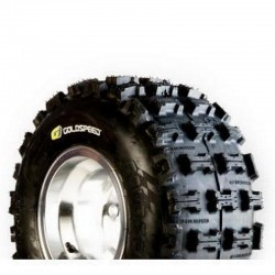 Pneu quad et buggy 18x10-8 Goldspeed cross MXR jaune