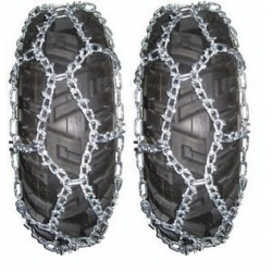 paire de chaine à neige KOLPIN Taille A pour pneus de quad et SSV