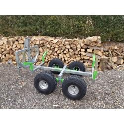 Remorque a bois pour quad et SSV