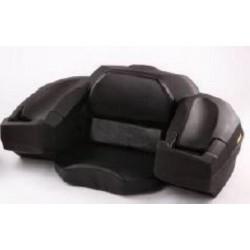 Coffre arrière pour quad BIHR avec assise noir 90L