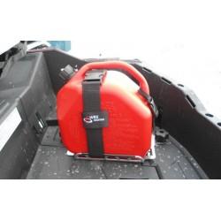 Bidon ART 10L rouge avec rack attache-rapide