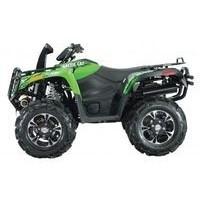 Artic Cat 700 Mud Pro, les pneus disponibles