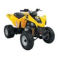 Can-Am DS 250 2WD, les pneus disponibles