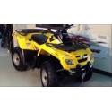 Can-Am Outlander 650 2WD/4WD, les pneus disponibles