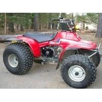 Honda TRX 125, les pneus disponibles