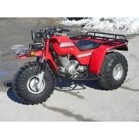 Honda TRX 250 Big Red, les pneus disponibles