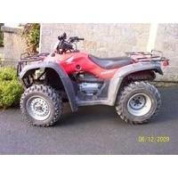 Honda TRX 350 4WD, les pneus disponibles
