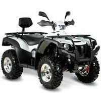 Hytrack HY 600 Premium EFI 4WD, les pneus disponibles