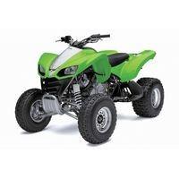 Kawazaki KXF 700 2WD, les pneus disponibles, les pneus disponibles