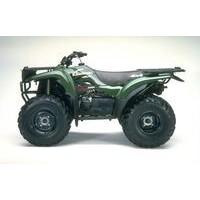 Kawazaki Prairie 300 2WD/4WD, les pneus disponibles, les pneus disponibles