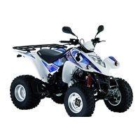 Kymco Maxxer 250 2WD, les pneus disponibles