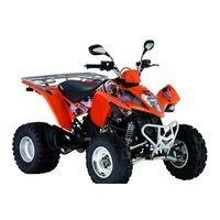 Kymco Maxxer 300 2WD, les pneus disponibles