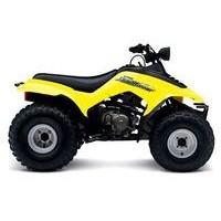 Suzuki LT 160 Quadrunner, les pneus disponibles