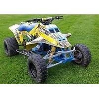 Suzuki LT 500 R Quad Racer, les pneus disponibles
