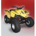 Unilli X2 50 2WD, les pneus disponibles