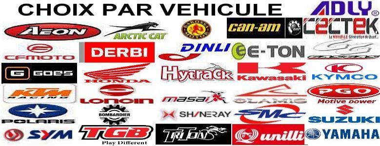 Choix par vehicule
